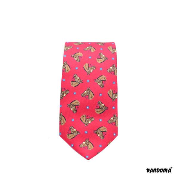 Vandoma Tie in Red