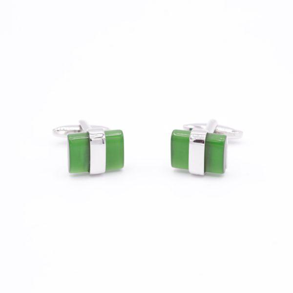 Green Cufflink